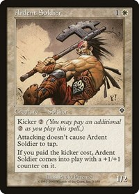 Ardent Soldier, Magic: The Gathering, Invasion
