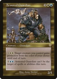 Armored Guardian, Magic: The Gathering, Invasion