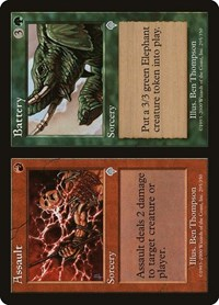 Assault // Battery, Magic: The Gathering, Invasion
