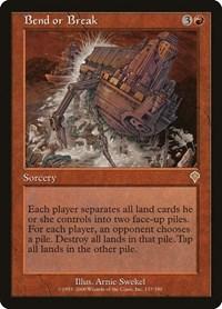 Bend or Break, Magic: The Gathering, Invasion