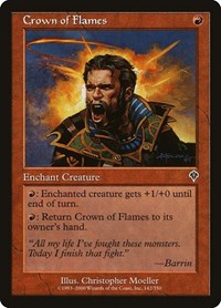 Crown of Flames, Magic: The Gathering, Invasion