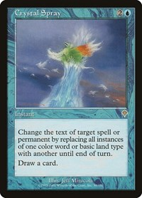 Crystal Spray, Magic: The Gathering, Invasion