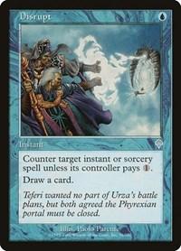 Disrupt, Magic: The Gathering, Invasion
