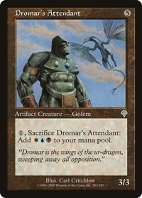 Dromar's Attendant, Magic: The Gathering, Invasion