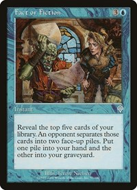 Fact or Fiction, Magic: The Gathering, Invasion