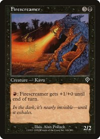 Firescreamer, Magic: The Gathering, Invasion