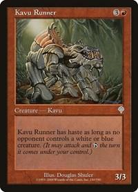 Kavu Runner, Magic: The Gathering, Invasion