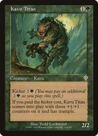 Kavu Titan, Magic, Invasion