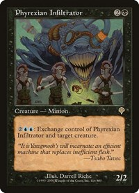 Phyrexian Infiltrator, Magic: The Gathering, Invasion