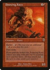 Pouncing Kavu, Magic: The Gathering, Invasion
