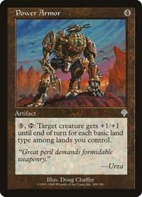Power Armor, Magic, Invasion