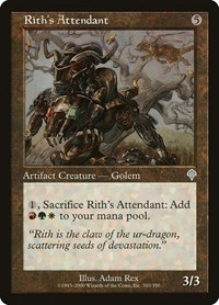 Rith's Attendant, Magic: The Gathering, Invasion
