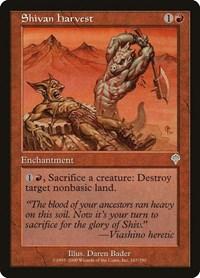 Shivan Harvest (Foil)