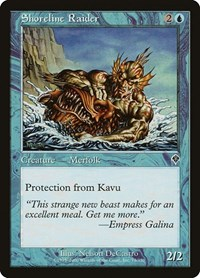 Shoreline Raider, Magic: The Gathering, Invasion