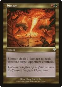 Simoon, Magic: The Gathering, Invasion