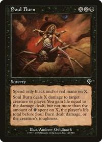 Soul Burn, Magic: The Gathering, Invasion