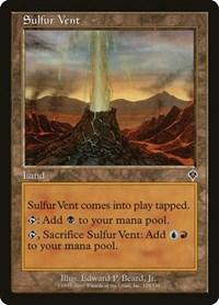 Sulfur Vent, Magic, Invasion