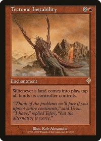 Tectonic Instability, Magic: The Gathering, Invasion