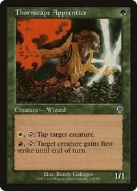 Thornscape Apprentice, Magic, Invasion