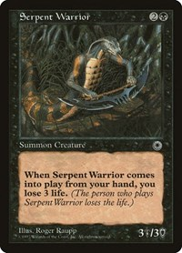 Serpent Warrior, Magic: The Gathering, Portal