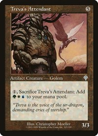Treva's Attendant, Magic, Invasion