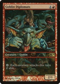 Goblin Diplomats, Magic, Game Day & Store Championship Promos