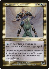 Ertai, the Corrupted (Alt. Art Foil), Magic: The Gathering, Planeshift