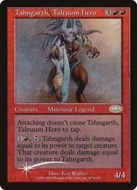 Tahngarth, Talruum Hero (Alt. Art Foil) (Foil)