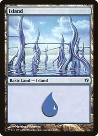 Island (43), Magic: The Gathering, Duel Decks: Venser vs. Koth