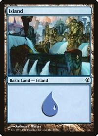 Island (39), Magic: The Gathering, Duel Decks: Izzet vs. Golgari