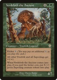 Verdeloth the Ancient, Magic: The Gathering, Invasion