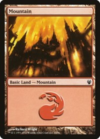 Mountain (44), Magic: The Gathering, Duel Decks: Izzet vs. Golgari