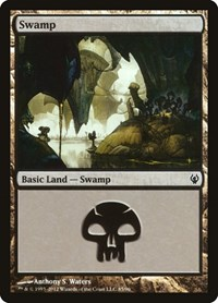 Swamp (85), Magic: The Gathering, Duel Decks: Izzet vs. Golgari