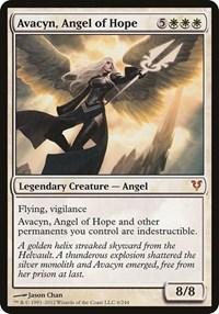 Avacyn, Angel of Hope (Avacyn Restored), Magic: The Gathering, Oversize Cards