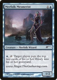 Merfolk Mesmerist, Magic: The Gathering, Media Promos