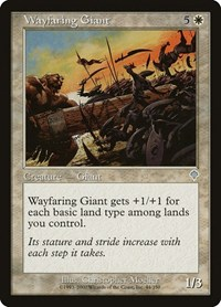 Wayfaring Giant, Magic: The Gathering, Invasion