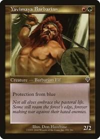 Yavimaya Barbarian, Magic: The Gathering, Invasion