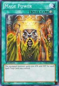 Mage Power, YuGiOh, Starter Deck: Yugi Reloaded