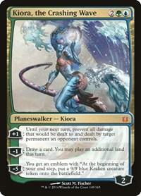 Kiora, the Crashing Wave (Foil)