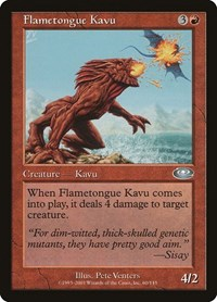 Flametongue Kavu, Magic, Planeshift