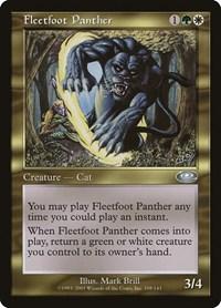 Fleetfoot Panther, Magic, Planeshift