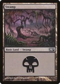 Swamp (239), Magic: The Gathering, Magic 2010 (M10)