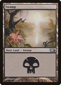 Swamp (238), Magic: The Gathering, Magic 2010 (M10)