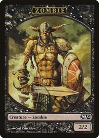 Zombie Token, Magic: The Gathering, Magic 2012 (M12)