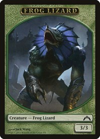 Frog Lizard Token, Magic: The Gathering, Gatecrash