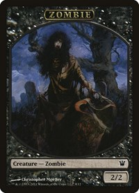 Zombie Token (Moeller), Magic: The Gathering, Innistrad