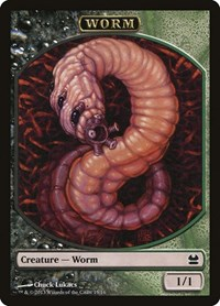 Worm Token, Magic: The Gathering, Modern Masters
