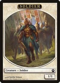 Soldier Token (Velinov), Magic: The Gathering, Theros
