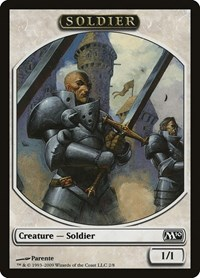 Soldier Token, Magic: The Gathering, Magic 2010 (M10)