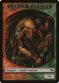 Goblin Warrior Token (Red/Green), Magic, Shadowmoor